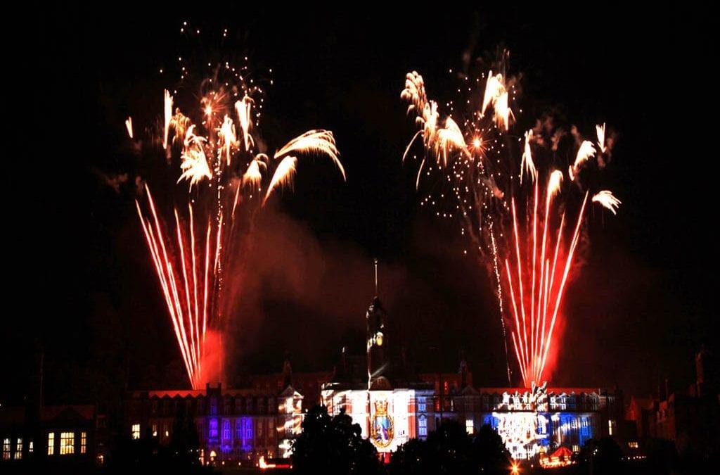 BRNC Fireworks